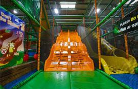 Come and play on the Tiger Slide at Safari MK