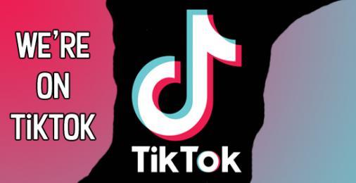 We're on TikTok! Come and say hi!